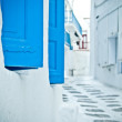 Back street, Mykonos — Stock Photo