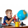 The wonders of geography - Stock Photo