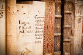 Manuscripts in Latin — Stock Photo