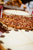 Pastel de nueces en el mercado — Foto de Stock