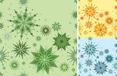 Bezešvé vzor ve 3 barvách — Stock vektor