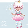 Постер, плакат: Sugar plum fairy with magic wand Fairy series 1