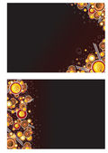 Abstract background design — Stock Vector