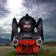 Old vintage train — Stock Photo