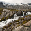 Stock Photo: Mountain small river