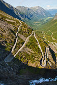 Troll's Road of Norway — Stock Photo