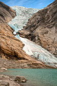 Glacier Briksdalen — Stock Photo