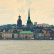 The centre of Stockholm — Stock Photo