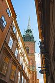Chiesa di santa geltrude — Foto Stock