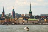 Le centre de stockholm — Photo