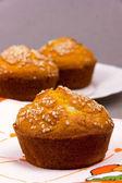 Muffin closeup — Stock Photo