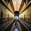 Stock Photo: Jail interior
