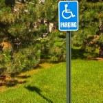Handicap Parking Sign — Stock Photo #10265538