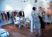 Vintage Dressing Closet — Stock Photo