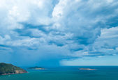Storm over the sea — Stock Photo