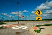Pedestrian crossing — Stock Photo
