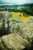 Old rock path — Stock Photo