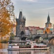 Stock Photo: Autumn in Prague