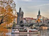 Herbst in prag — Stockfoto