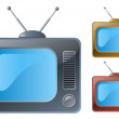 Television — Stock Vector #10637687