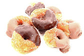 Chocolate Glazed Donuts — Stock Photo