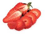 Strawberries on White — Stock Photo