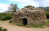 Dry-stone hut — Stock Photo
