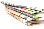 Newspaper series — Stock Photo