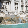 Trevi fountain in Rome — Stock fotografie