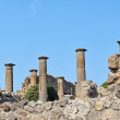 Stock Photo: Ruins of Ancient Temple in Pompeii