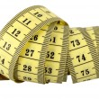 Measuring Tape Swirl - Stock Photo