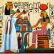 egyptisk papyrus — Stockfoto
