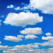 Clear Blue Sky And Clouds — Stock Photo