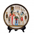 Souvenir Plate Egypt — Stock Photo