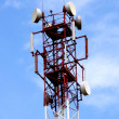 Telecommunication Tower — Foto de stock #10276548