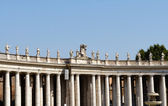 Vatican - Colonnades — Stock Photo