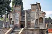 The Ruins Temple in Pompeii — Stock Photo