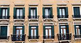 Venetian Windows — Stock Photo