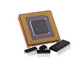 Evolution Of Microchip — Stock Photo