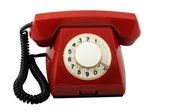 Czerwony telefon — Zdjęcie stockowe
