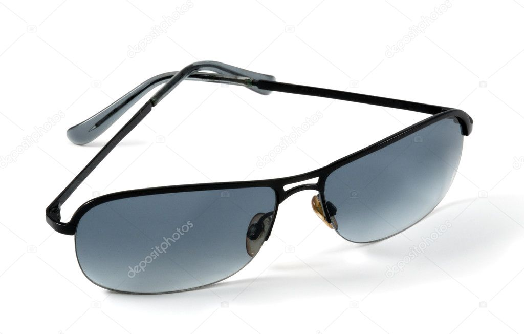 A pair  sunglasses isolated on a white background — Stock Photo #10276687