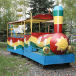 "Children's attraction ""train"" — Stock Photo #10192012"