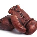Постер, плакат: Old boxing gloves