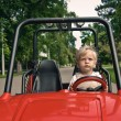 Little driver — Stock Photo #10547071
