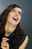 Fascinating laugh — Stock Photo