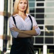 Young business lady — Stock Photo