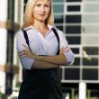 Stock Photo: Young business lady