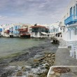 Myconos island, one of the tourist destinations in Greece — Stock Photo
