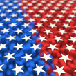 Stock Photo: Americflag theme background