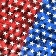 American flag theme background — Stock Photo